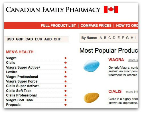 Canadian pharmacy website