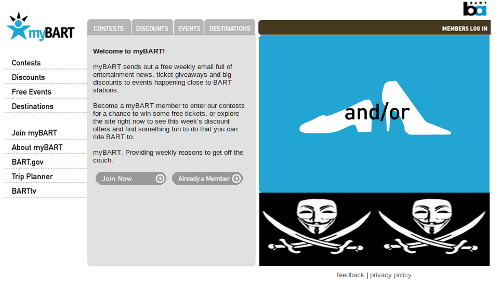 Mybart.org defacement