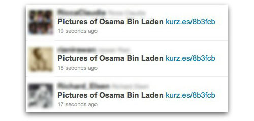 Pictures of Osama Bin Laden
