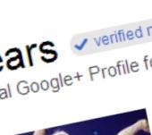 Google+ verified account