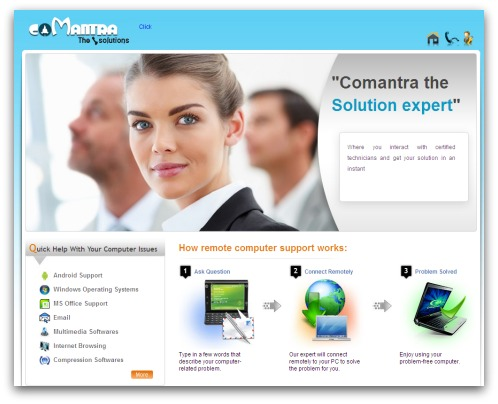 Comantra website