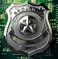 Internet police badge