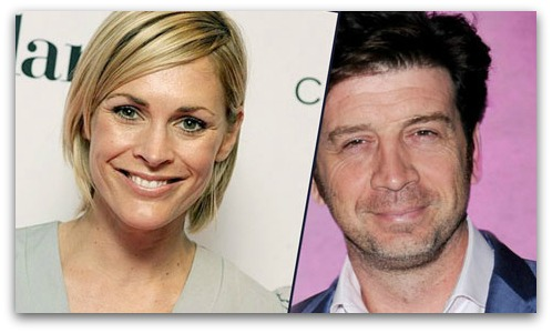 Jenni Falconer and Nick Knowles