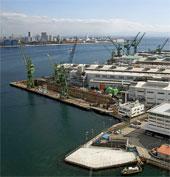 Kobe shipyard