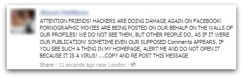 Movie hoax on Facebook