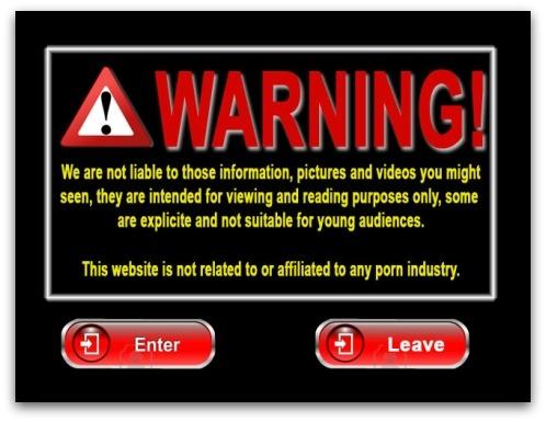Unappealing website