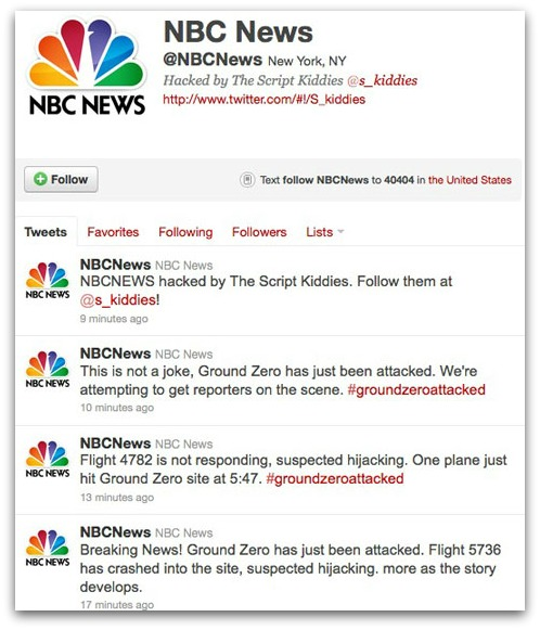 Tweets from the NBCNews Twitter account