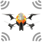 Quadricopter WiFi attack