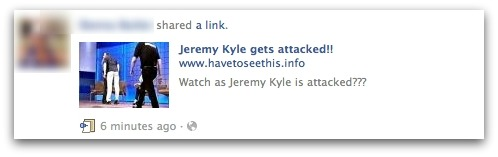 Jeremy Kyle gets attacked!!