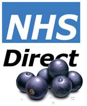 NHS Direct acai berries