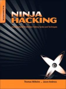Ninja Hacking - book cover