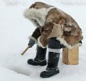 Fishing in Nunavut