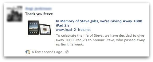 In Memory of Steve Jobs, we're Giving Away 1000 iPad 2's