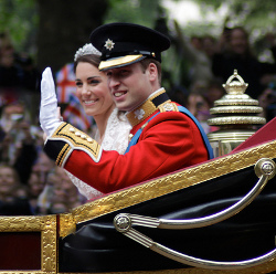 Creative Commons photo of Will and Kate courtesy of anonlinegreenworld's Flickr photostream