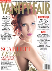 Vanity Fair cover of Scarlett Johansson