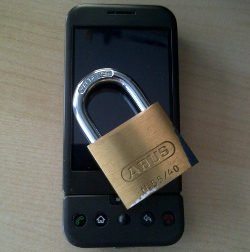 Android permissions lock