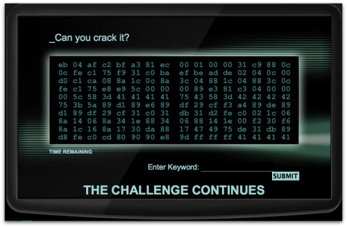 GCHQ's can you crack it website