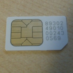 SIM chip