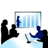 Video conference equipment. Credit: Shutterstock