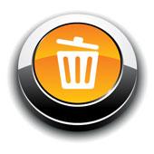 Delete button. Credit Shutterstock