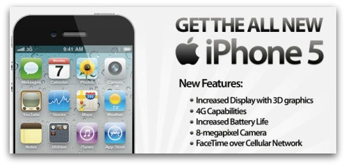 Are these the iPhone 5's new features?