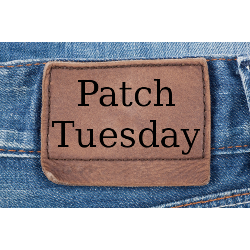 Patch Tuesday blue jeans