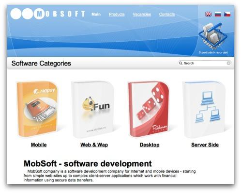 MobSoft website