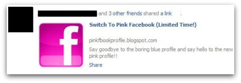Switch to Pink Facebook (Limited Time!)