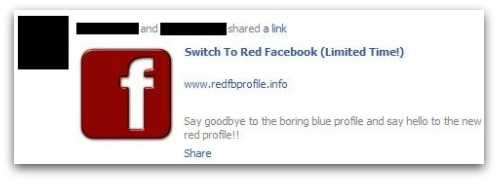 Switch to Red Facebook (Limited Time!)