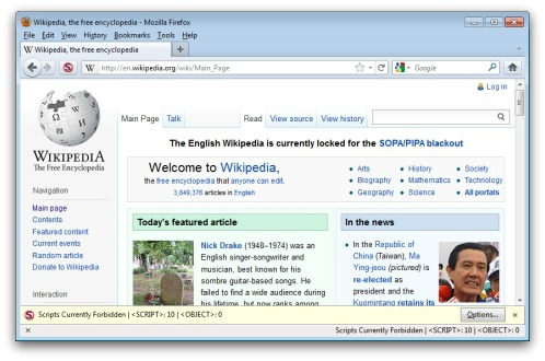 Wikipedia is accessible