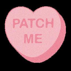 Valentine from Mrs. W.