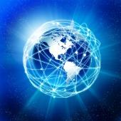 Internet world image, courtesy of Shutterstock
