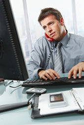 Man on phone, courtesy Shutterstock