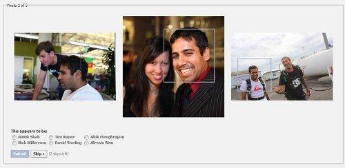 Facebook social authentication