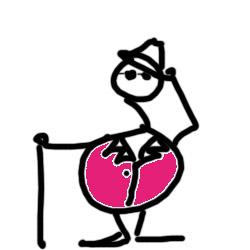 pimp drawn by Carole