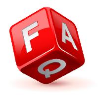 FAQ cube courtesy of Shutterstock