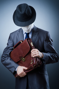 Thief with secrets image courtesy of Shutterstock