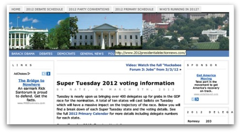Super Tuesday 2012 voting information PDF