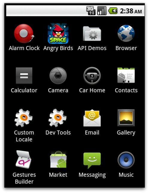 Android phone with Trojan posing as Angry Birds Space