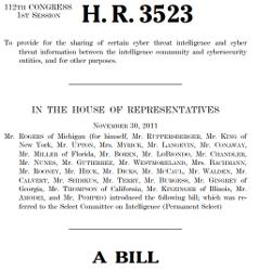 CISPA bill