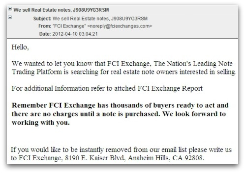 FCI email malware attack