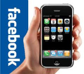 Facebook and smartphone