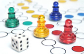 Ludo game. Image from Shutterstock