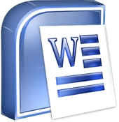 Mac Word icon