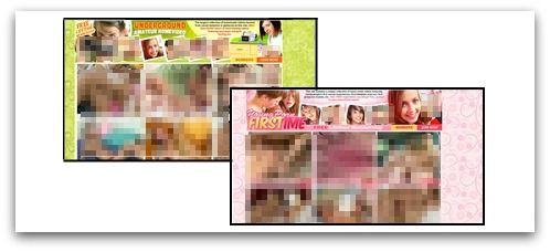 Sites promoted by pornographic spam campaign