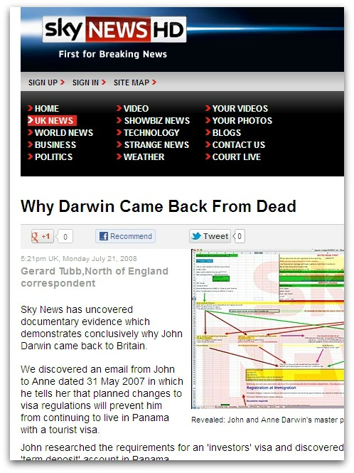 Sky News story. Click for larger version