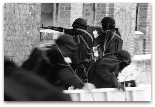 SWAT team. Image courtesy of Shutterstock