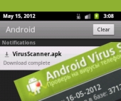 Android fake anti-virus download