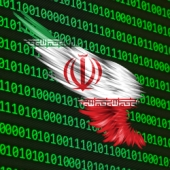 Iran and binary. Image courtesy of Shutterstock