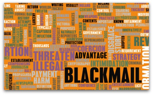 blackmail wordle